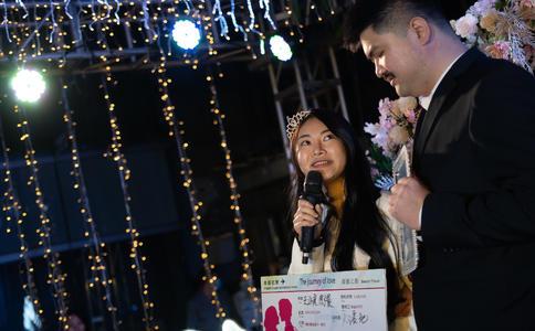 郑州王先生浪漫求婚成功 感恩一路有你相伴