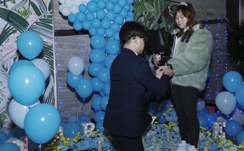 宜昌最浪漫的求婚告白视频 我好像中了你的魔咒每天都想和你在一