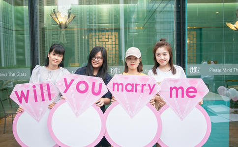 广州别具一格的创意求婚策划