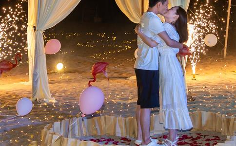 西安超浪漫震撼的求婚场面瞬间征服女友