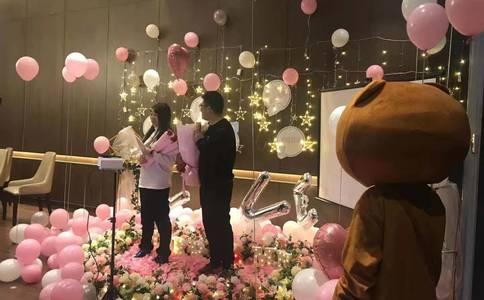 惠州餐馆浪漫求婚――我只有一颗爱你的心【惠州求婚】