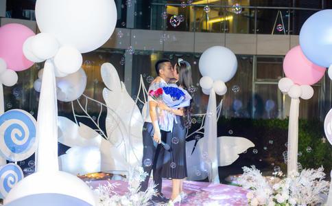 惠州最有创意的求婚方式 女追男告别矜持勇敢说出爱