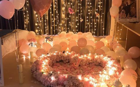 沈阳求婚现场布置效果美图分享 介绍浪漫求婚美图案例