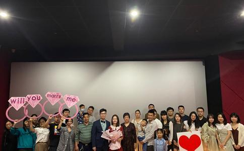 扬州最让人心动的求婚方式 在甜蜜浪漫中度过