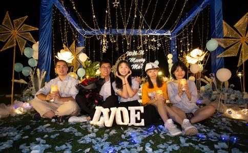广州ktv求婚现场布置图片,广州求婚现场图片大全