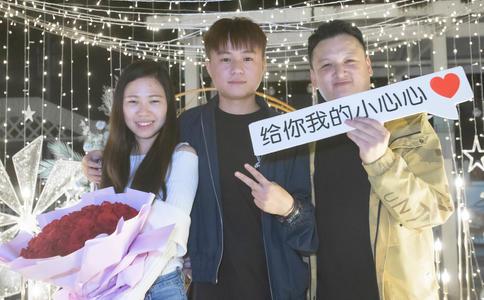 天津KTV浪漫生日求婚 欢乐迪从未如此热闹过