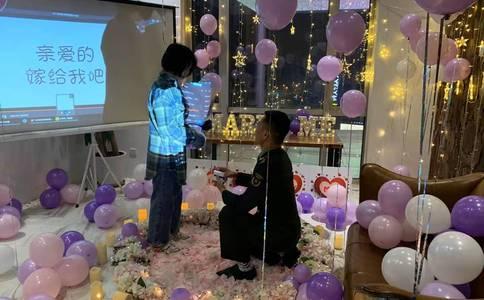 大庆求婚创意策划方案  给她一个浪漫的求婚