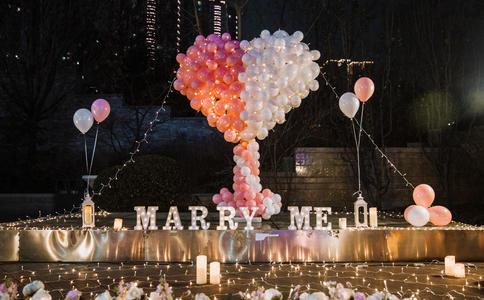 南京浪漫求婚创意有哪些 真挚的爱人传递给爱人只求你一生无忧