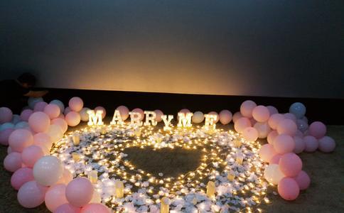浪漫情话表达你浓烈的爱  重庆广场求婚策划
