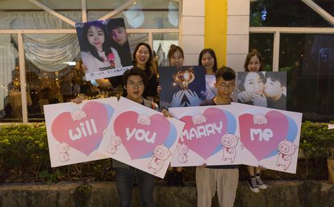香港钻石秘密花园三重门惊喜求婚 你是最美人间四月天