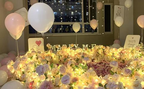 南京浪漫创意求婚现场效果图分享 适合你的求婚场景