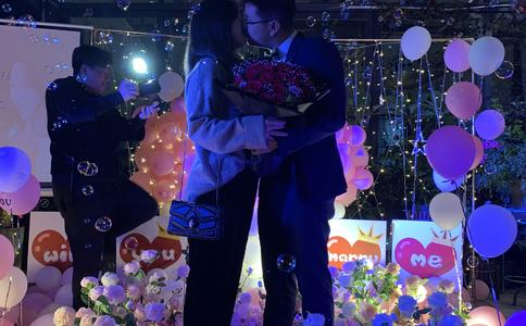 大庆最温馨的浪漫求婚创意,有时简单也是一种美