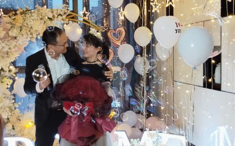 南京浪漫节日求婚场景布置美图分享