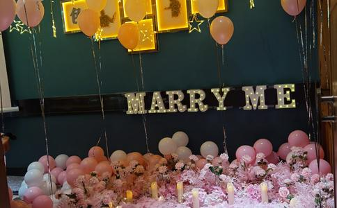 还记得第一次见你的那一刻得童话般感觉 太原最浪漫的求婚表白视